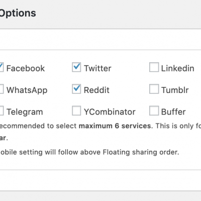 Crunchy Social - Mobile Social Sharing Options