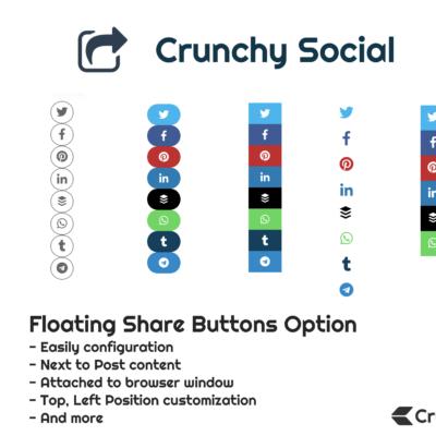 Crunchy Social Sharing - Floating Options